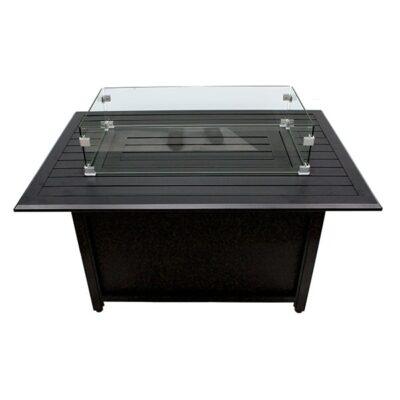 Rectangle Aluminum Fire Table
